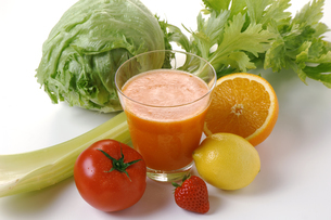 野菜ジュースの写真素材 [FYI01927780]