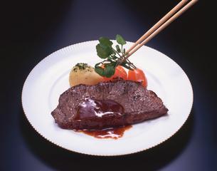 ステーキの写真素材 [FYI01927802]