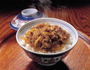 牛丼の写真素材 [FYI01928018]