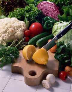 フレッシュな野菜イメージの写真素材 [FYI01928045]