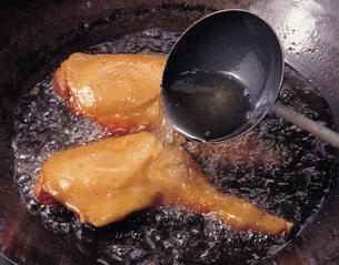 鶏肉の照り焼きの写真素材 [FYI01928075]