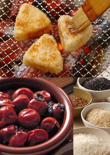 和食のイメージ・コラージュの写真素材 [FYI01928079]