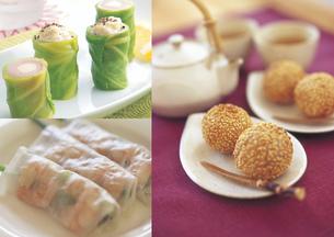 アジア料理のイメージ・コラージュの写真素材 [FYI01928184]