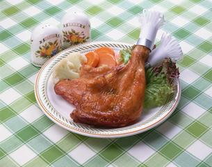 鶏もも肉の照り焼きの写真素材 [FYI01928403]
