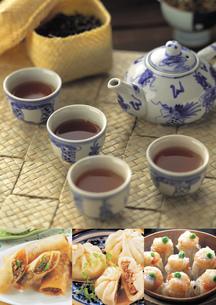 中華料理のイメージ・コラージュの写真素材 [FYI01928451]