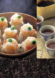 中華料理のイメージ・コラージュの写真素材 [FYI01928494]