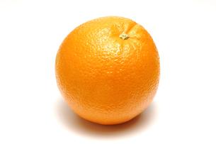 1個のオレンジの写真素材 [FYI01928674]