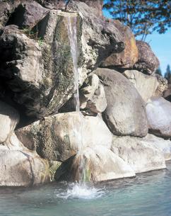 赤倉温泉の露天風呂の写真素材 [FYI01928980]