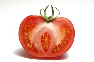 トマトの断面の写真素材 [FYI01929506]