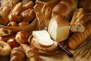 パン集合の写真素材 [FYI01929604]