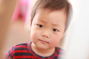 男の赤ちゃんの写真素材 [FYI01929730]