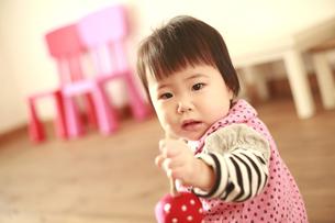 女の赤ちゃんの写真素材 [FYI01930023]