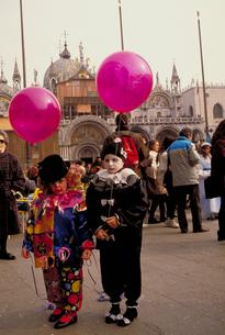 ベネチアのカーニバルの写真素材 [FYI01930102]