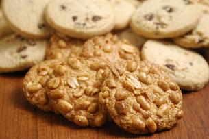 ビスケットとクッキーの写真素材 [FYI01930123]