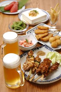 居酒屋料理の写真素材 [FYI01930230]
