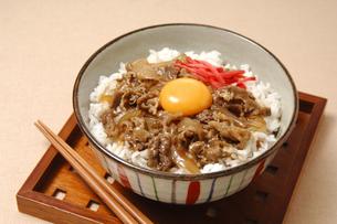 牛丼の写真素材 [FYI01930317]