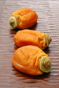 あんぽ柿の写真素材 [FYI01930384]