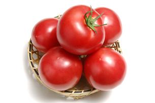 5個のトマトの写真素材 [FYI01931042]