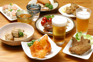 居酒屋料理の写真素材 [FYI01931187]