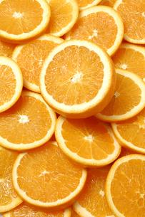 一面のオレンジの写真素材 [FYI01931277]