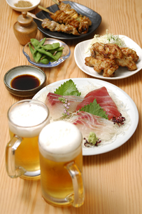 居酒屋料理の写真素材 [FYI01931283]