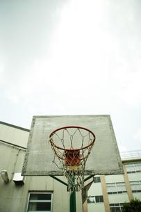 バスケットボールのゴールの写真素材 [FYI01931800]