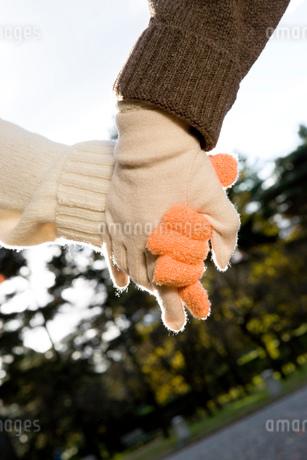 手をつなぐ女性の手の写真素材 [FYI01932665]
