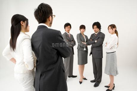 対立する男性と女性の写真素材 [FYI01932728]