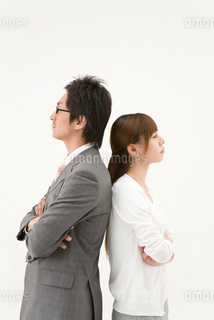 対立する男性と女性の写真素材 [FYI01932967]