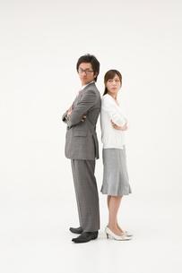 対立する女性と男性の写真素材 [FYI01933847]