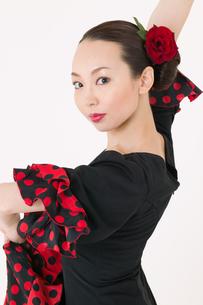フラメンコを踊る女性の写真素材 [FYI01933873]