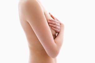 ヌードの女性の上半身の写真素材 [FYI01934019]