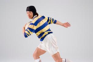 ラグビー選手の写真素材 [FYI01936479]
