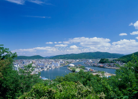 日和山公園から見た北上川の写真素材 [FYI01936768]