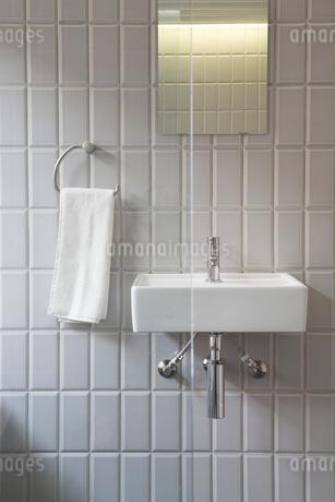 洗面台の写真素材 [FYI01939127]