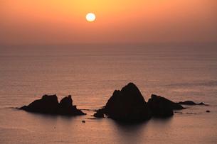 坊津の夕景の写真素材 [FYI01942945]
