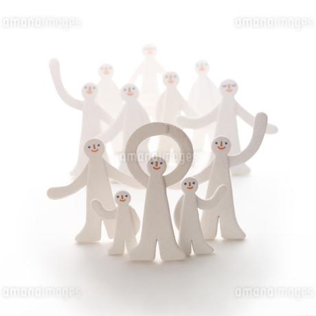 人の集合体 クラフトの写真素材 [FYI01943282]