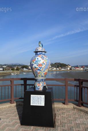 伊万里津大橋の伊万里焼の写真素材 [FYI01943831]