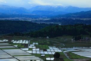 山本山からの田園風景の写真素材 [FYI01944211]