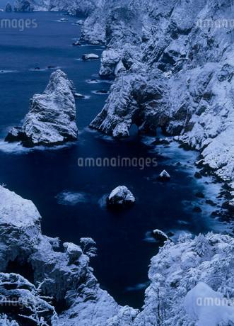 冬の北山崎の写真素材 [FYI01944248]