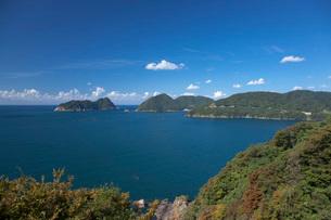 御神島と常神半島の写真素材 [FYI01944583]