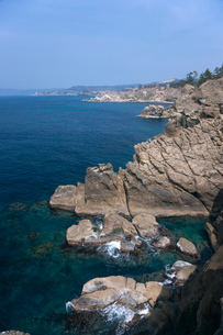 ヤセの断崖の眺望の写真素材 [FYI01944691]
