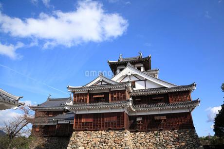 福知山城  天守閣の写真素材 [FYI01944749]