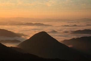 大江山から雲海の眺めの写真素材 [FYI01944899]