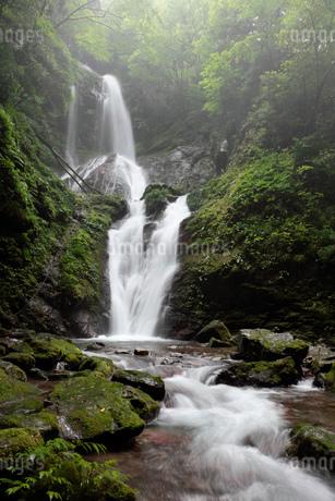 雨乞の滝  雌滝の写真素材 [FYI01945275]