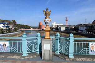 相生橋の伊万里焼の写真素材 [FYI01945403]