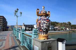 相生橋の伊万里焼の写真素材 [FYI01945563]