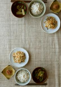 健康を意識した食事の写真素材 [FYI01946720]