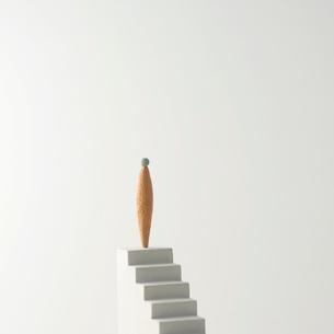 ピープルと階段 クラフトの写真素材 [FYI01948725]