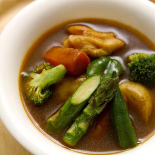 スープカレーの写真素材 [FYI01948991]